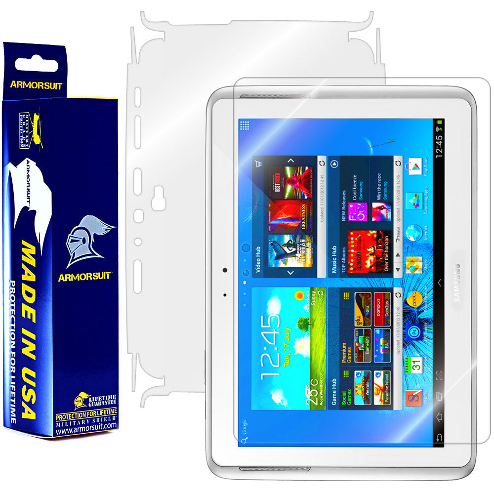 Samsung Galaxy Note 10.1 Full Body Skin Protector