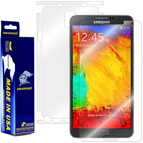 Samsung Galaxy Note 3 Full Body Skin Protector