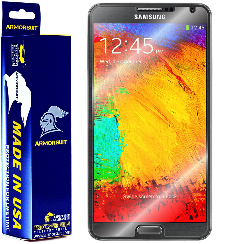 Samsung Galaxy Note 3 Screen Protector (Case Friendly)