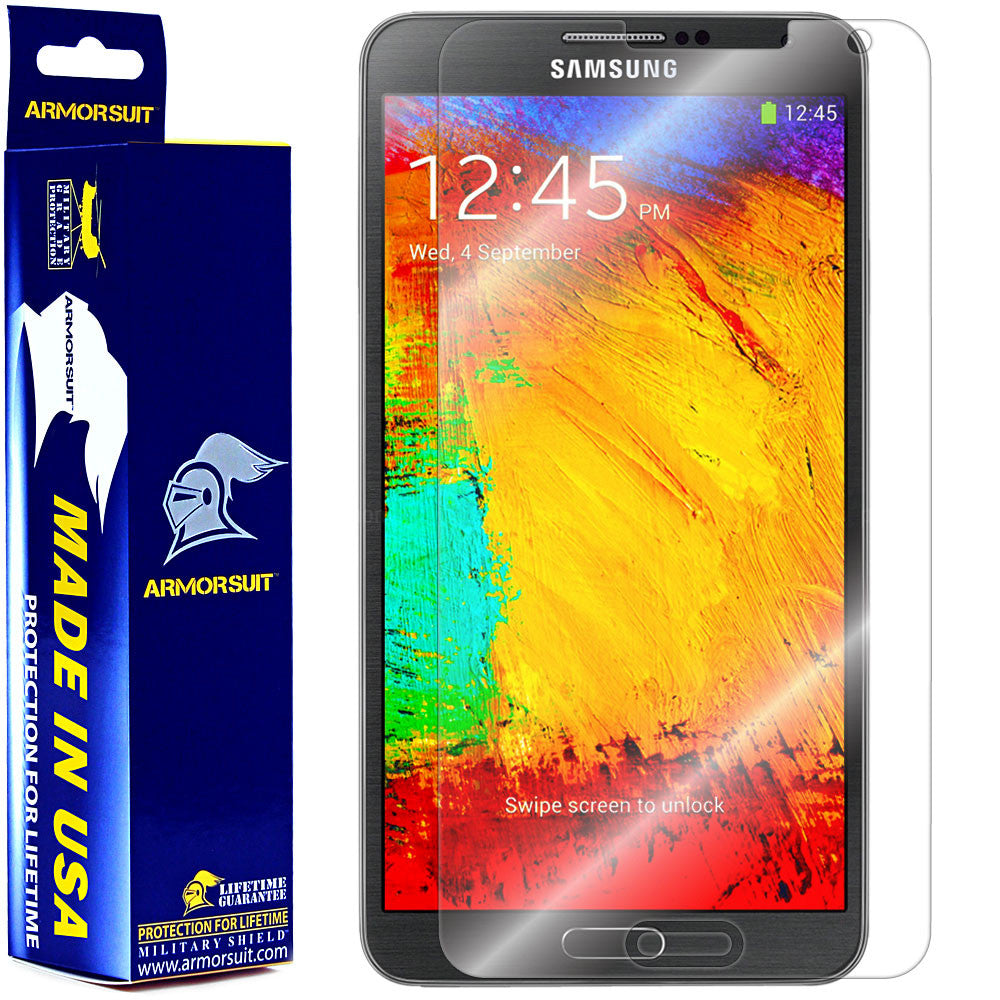 Samsung Galaxy Note 3 Screen Protector