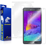 Samsung Galaxy Note 4 Full Body Skin Protector