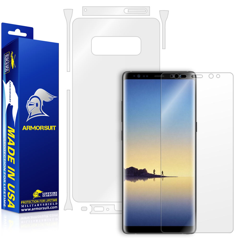 Samsung Galaxy Note 8 Full Body Skin Protector