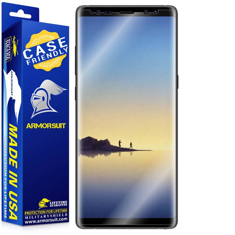 Samsung Galaxy Note 8 Case-Friendly Screen Protector
