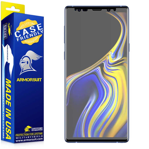 Samsung Galaxy Note 9 Matte Case-Friendly Screen Protector
