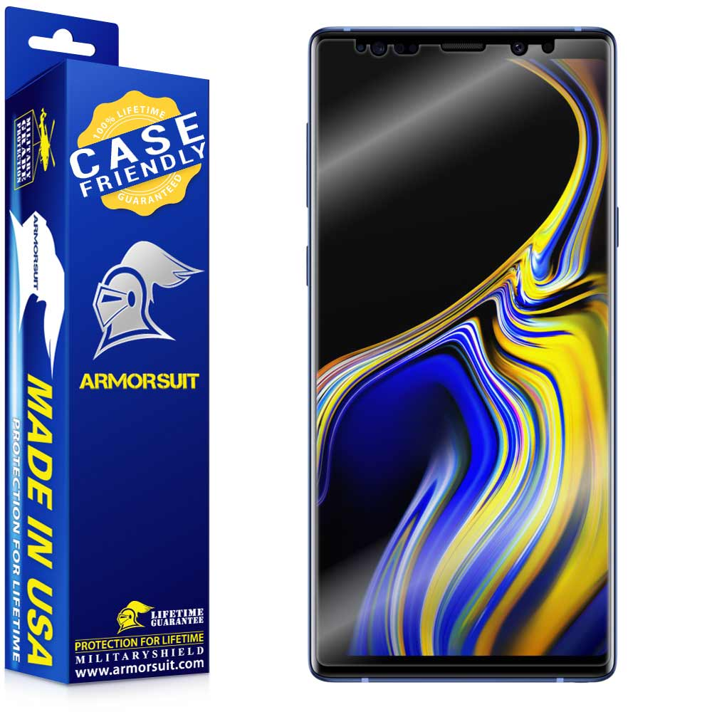 Samsung Galaxy Note 9 Case-Friendly Screen Protector