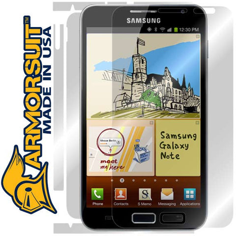 Samsung Galaxy Note Full Body Skin Protector (International Version)