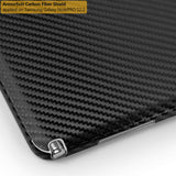 "Samsung Galaxy NotePRO 12.2"" Screen Protector + Black Carbon Fiber Film Protector"