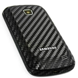 Samsung Galaxy Proclaim Screen Protector + Black Carbon Fiber Skin Protector