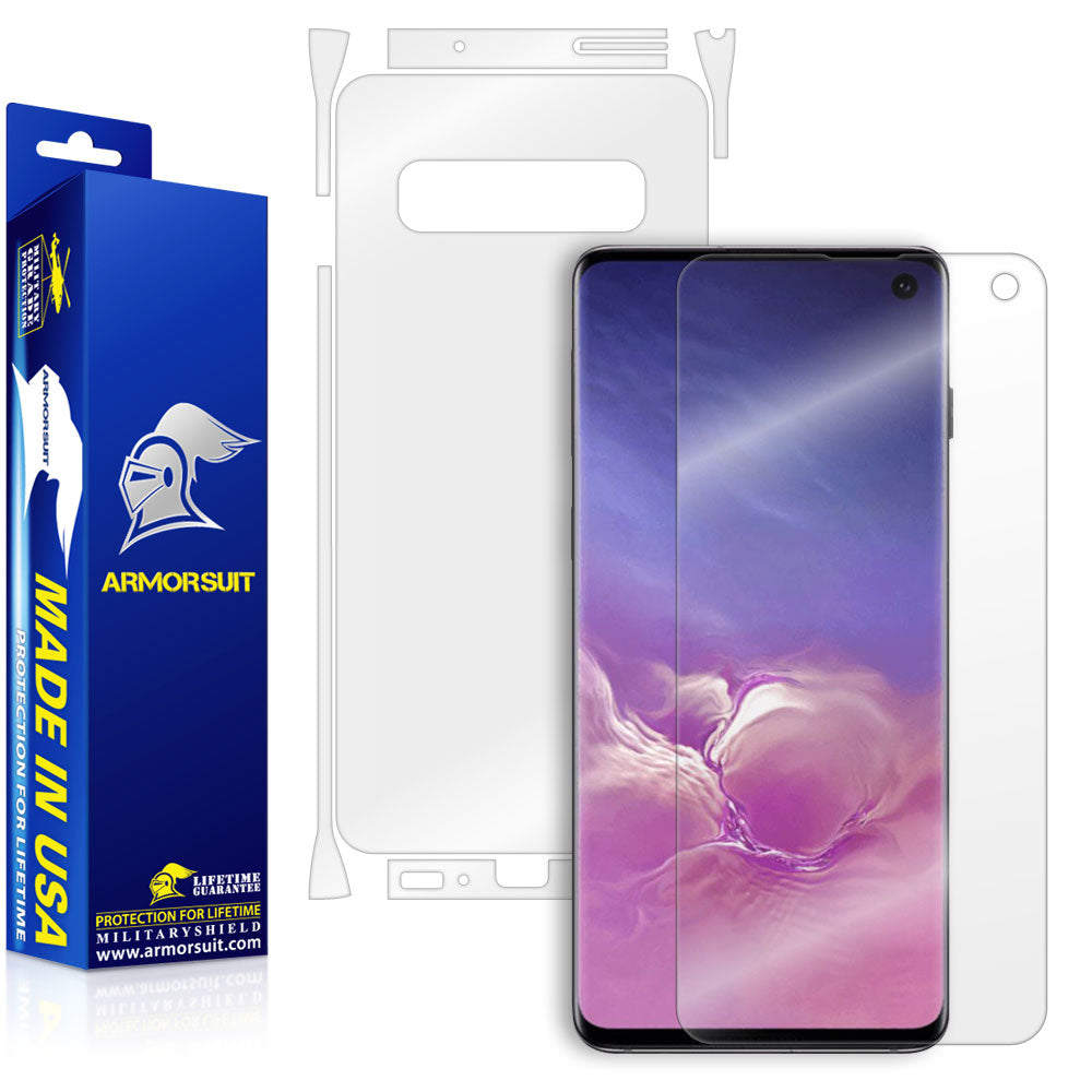 Samsung Galaxy S10 Full Body Skin Protector