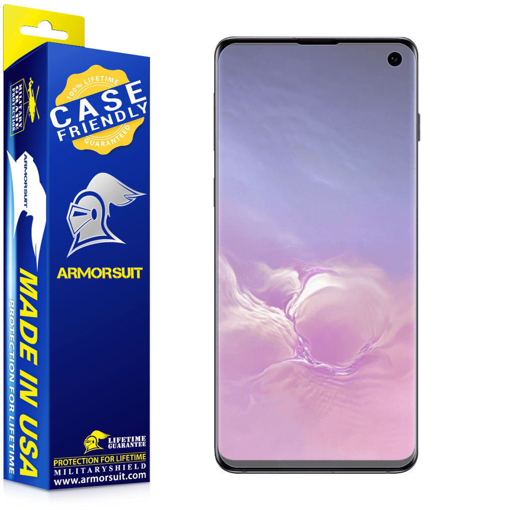 Samsung Galaxy S10 Matte Case-Friendly Screen Protector