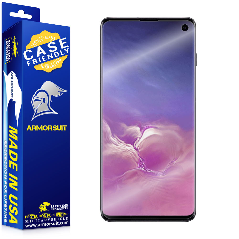 Samsung Galaxy S10 Case-Friendly Screen Protector