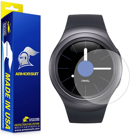 Samsung Gear S2 3G/4G Anti-Glare (Matte) Screen Protector (2-pack)