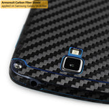 Samsung Galaxy S4 Active Screen Protector + Black Carbon Fiber Film Protector