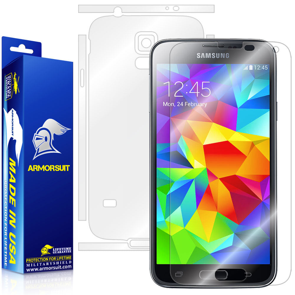 Samsung Galaxy S5 Full Body Skin Protector