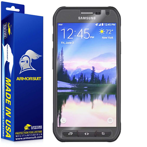 Samsung Galaxy S6 Active Screen Protector (Case-Friendly)