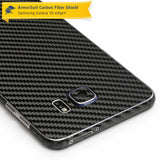 Samsung Galaxy S6 Edge+ / S6 Edge Plus Screen Protector + Black Carbon Fiber Skin