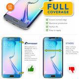 Samsung Galaxy S6 Edge Anti-Glare (Matte) Screen Protector [Full Screen Coverage]