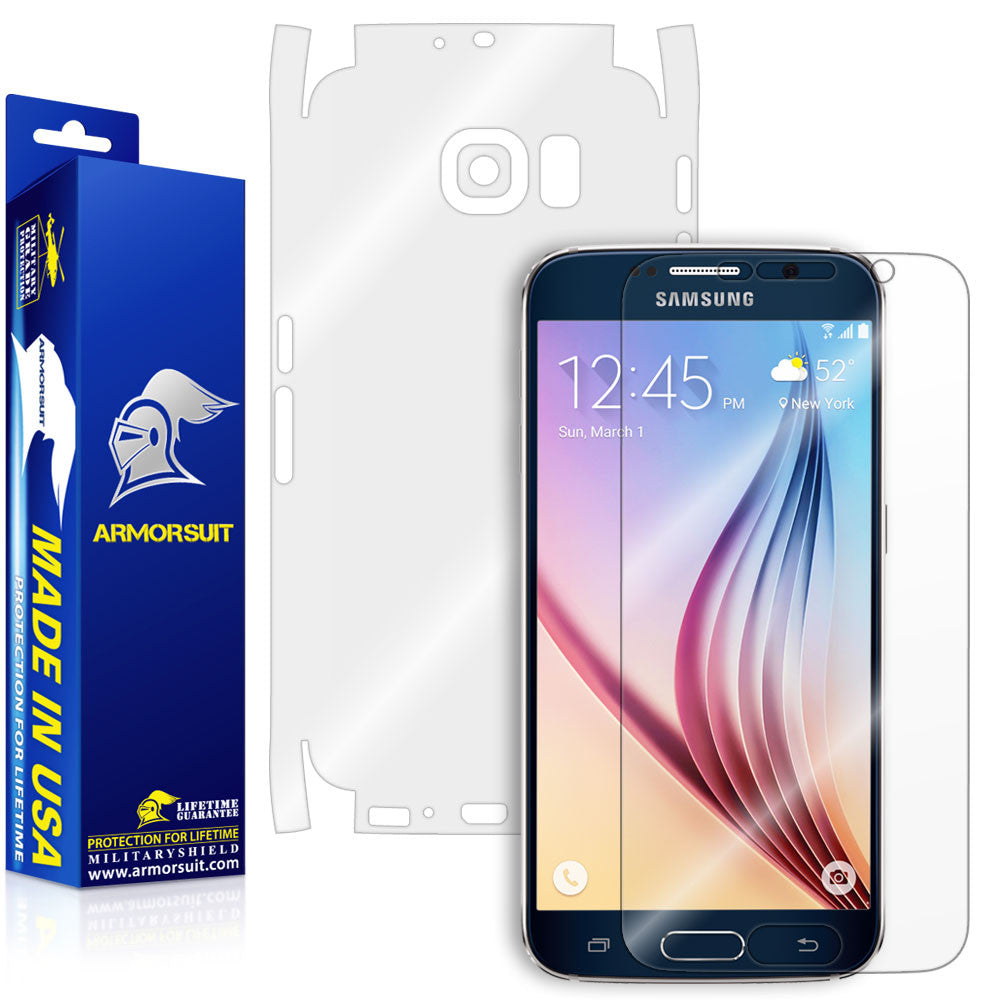 Samsung Galaxy S6 Full Body Skin Protector