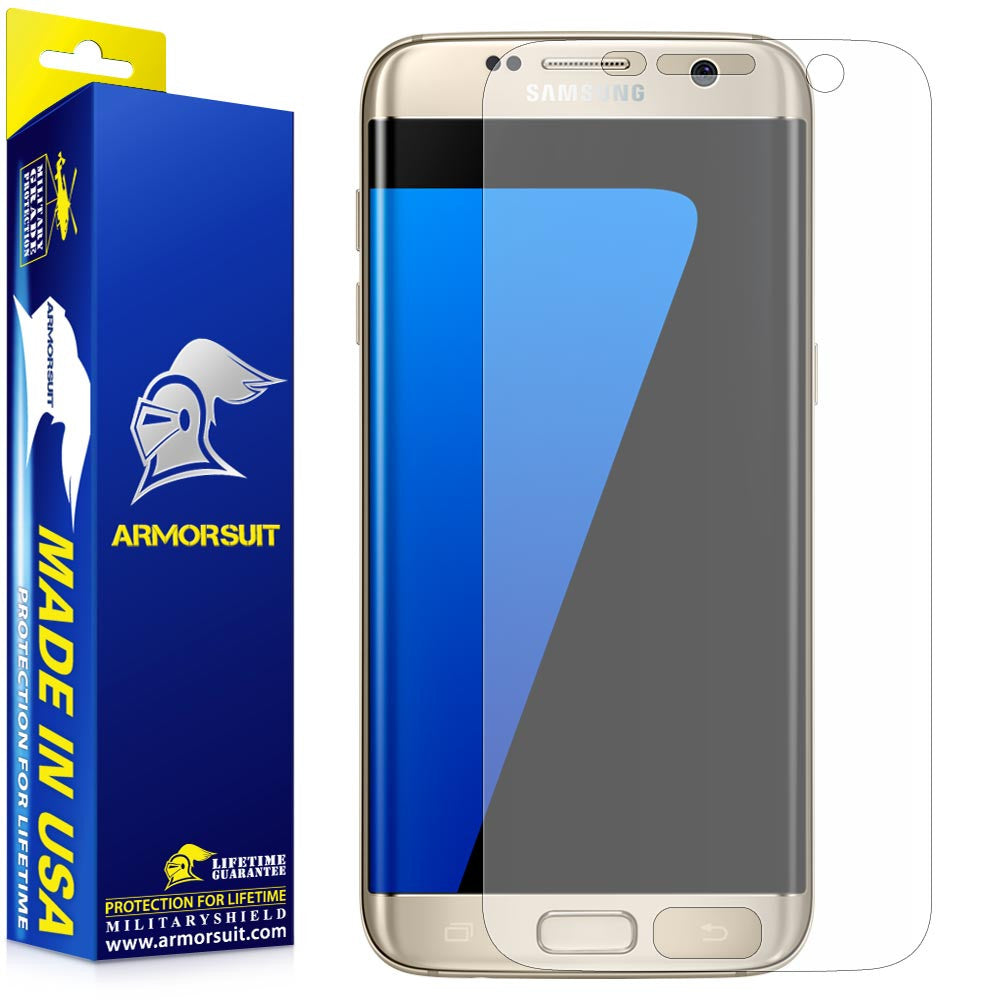 Samsung Galaxy S7 Edge Anti-Glare Screen Protector [Full Coverage] - Matte