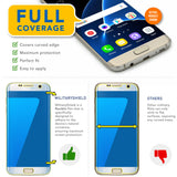 Samsung Galaxy S7 Edge Screen Protector [Full Coverage]