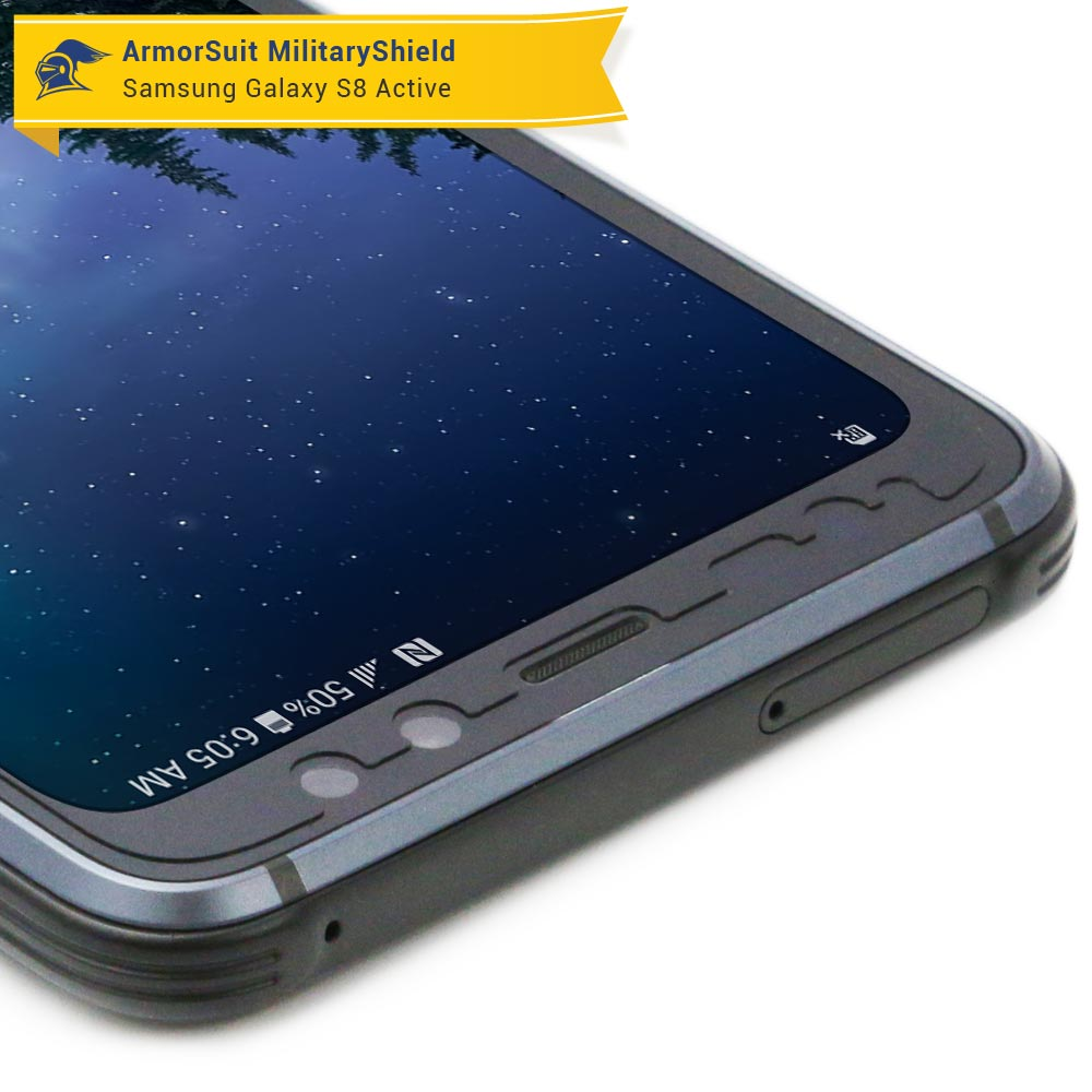 best website 4dc48 c8337 Samsung Galaxy S8 Active Case-Friendly Screen Protector - ArmorSuit