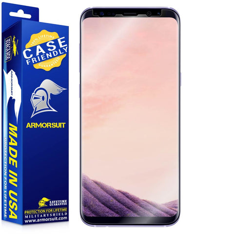 Samsung Galaxy S8 Plus Case-Friendly Screen Protector