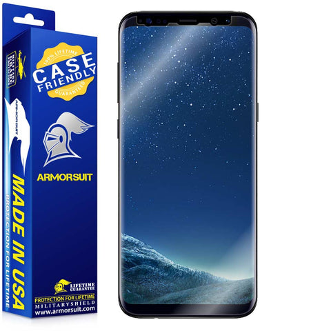 Samsung Galaxy S8 Case-Friendly Screen Protector