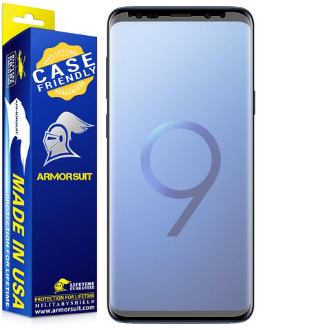 Samsung Galaxy S9 Plus Matte Case-Friendly Screen Protector