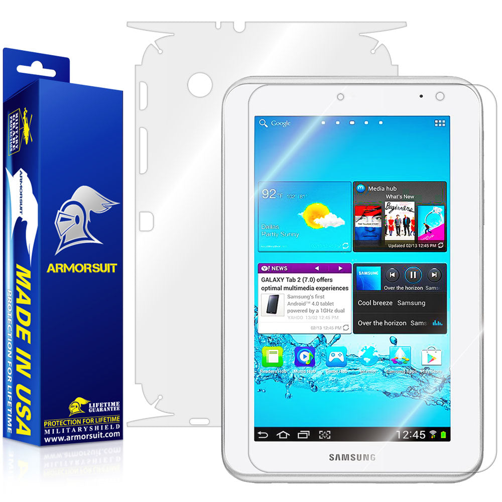 Samsung Galaxy Tab 2 7.0 Full Body Skin Protector