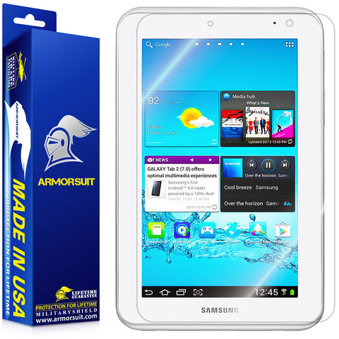 Samsung Galaxy Tab 2 7.0 Screen Protector