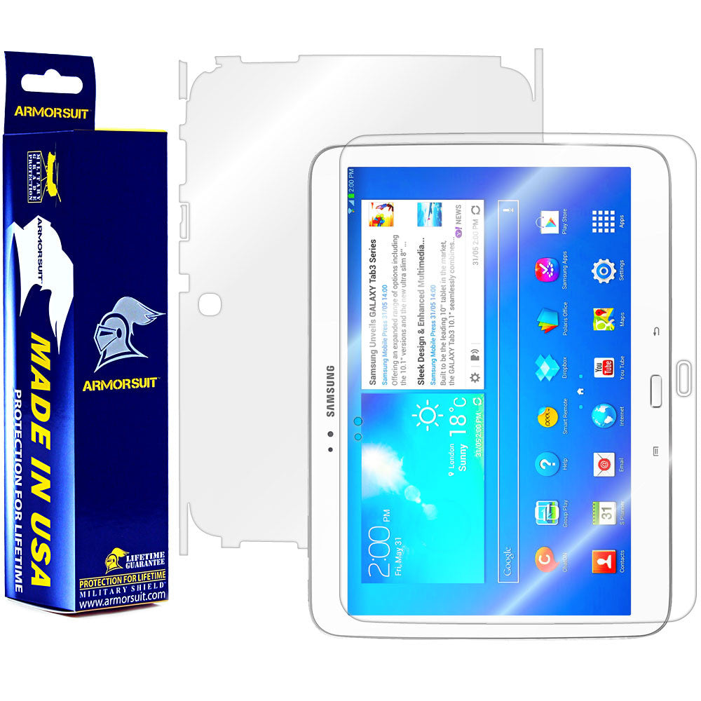Samsung Galaxy Tab 3 10.1 Full Body Skin Protector