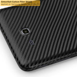 "Samsung Galaxy Tab 3 Lite 7"" Screen Protector + Black Carbon Fiber Film Protector"