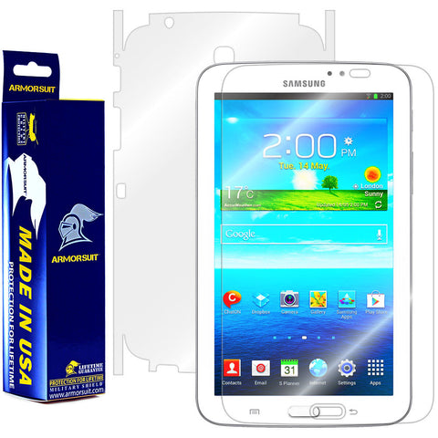Samsung Galaxy Tab 3 7.0 Full Body Skin Protector