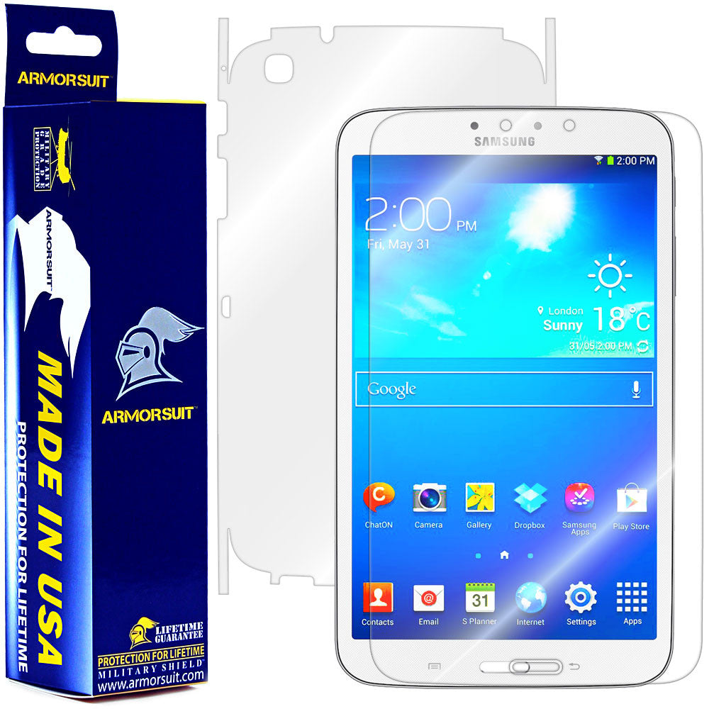 Samsung Galaxy Tab 3 8.0 (Wifi Only) Full Body Skin Protector