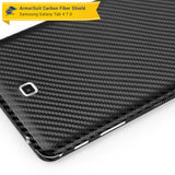 Samsung Galaxy Tab 4 7.0 Screen Protector + Black Carbon Fiber Film Protector