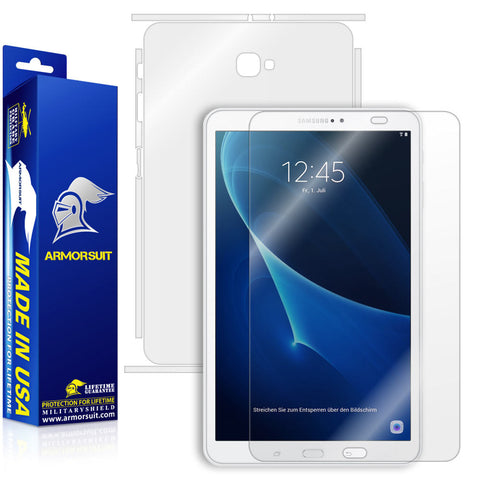 Samsung Galaxy Tab 10.1 (2016) [NO S PEN] Screen Protector + Full Body Skin