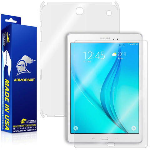 "Samsung Galaxy Tab A 9.7"" Screen Protector + Full Body Skin Protector"