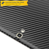 Samsung Galaxy Tab S 10.5 Screen Protector + Black Carbon Fiber Film Protector