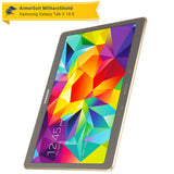 Samsung Galaxy Tab S 10.5 Screen Protector + White Carbon Fiber Film Protector