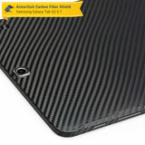 Samsung Galaxy Tab S2 9.7 Screen Protector + Black Carbon Fiber Skin