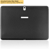 "Samsung Galaxy TabPRO 10.1"" Screen Protector + Black Carbon Fiber Film Protector"
