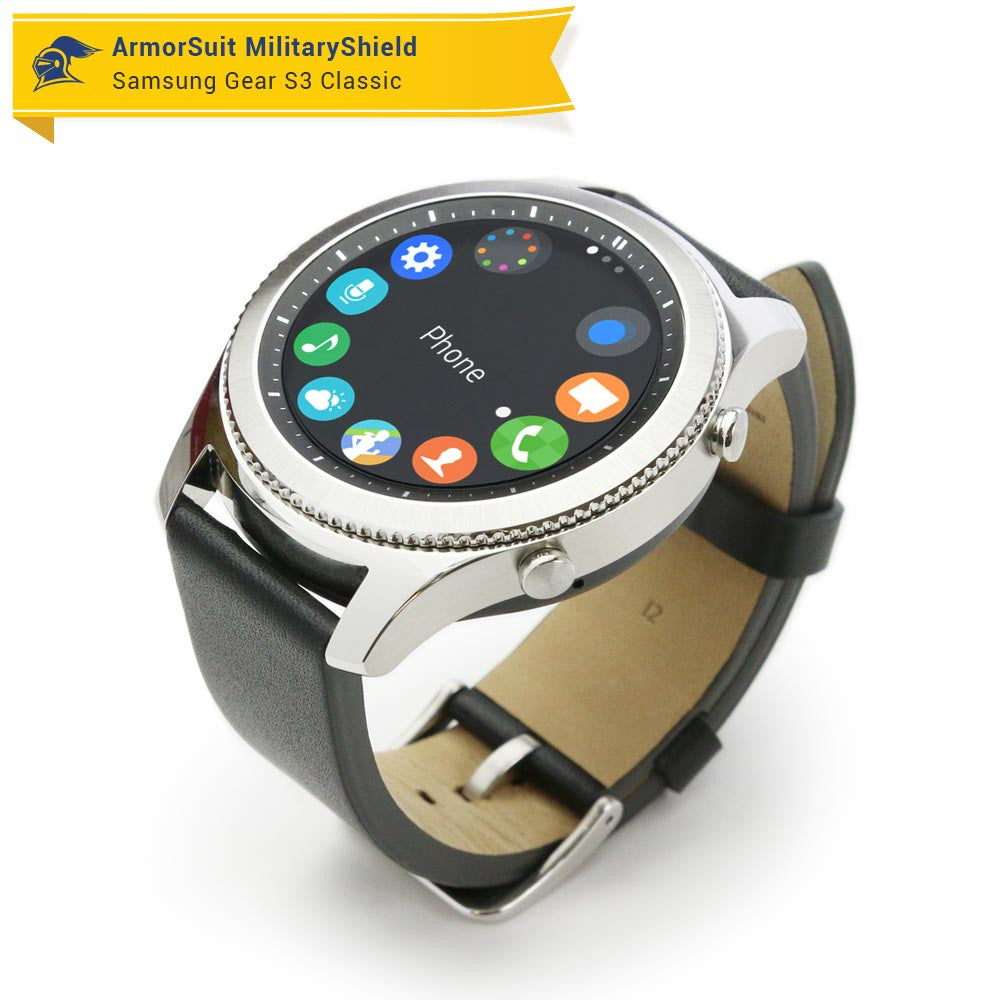 Samsung Gear S3 Frontier Screen Protector Full Body Skin Armorsuit Classic Silver You Might Also Like