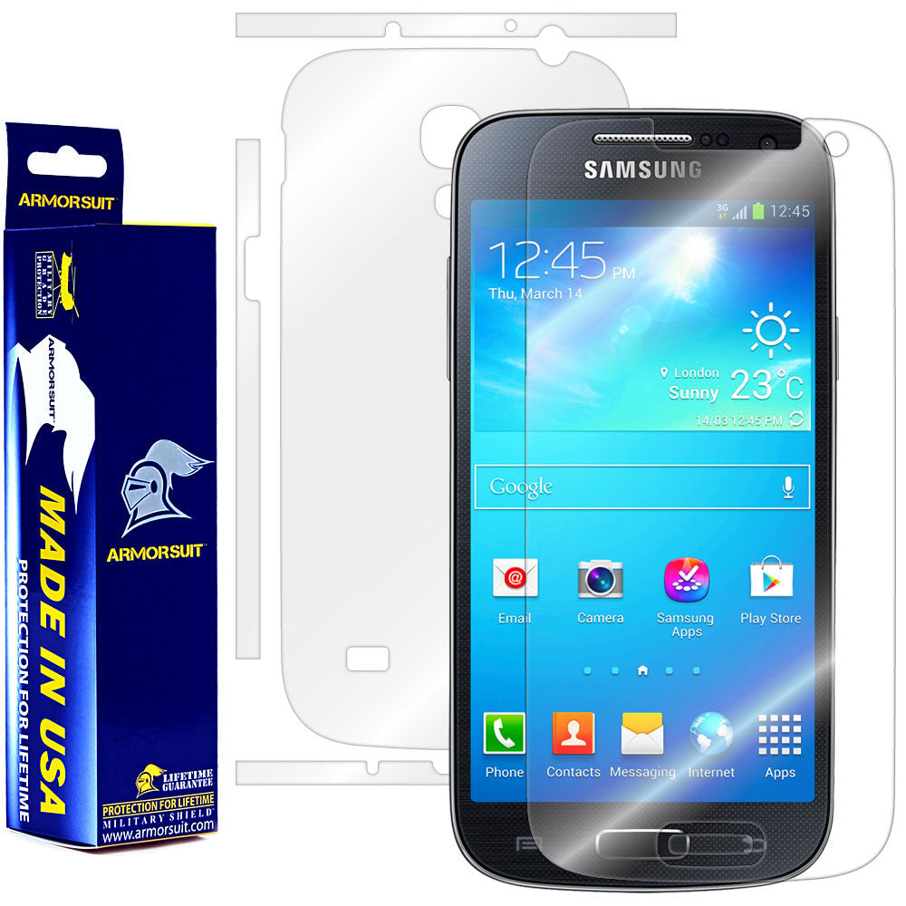 Samsung Galaxy S4 Mini Full Body Skin Protector