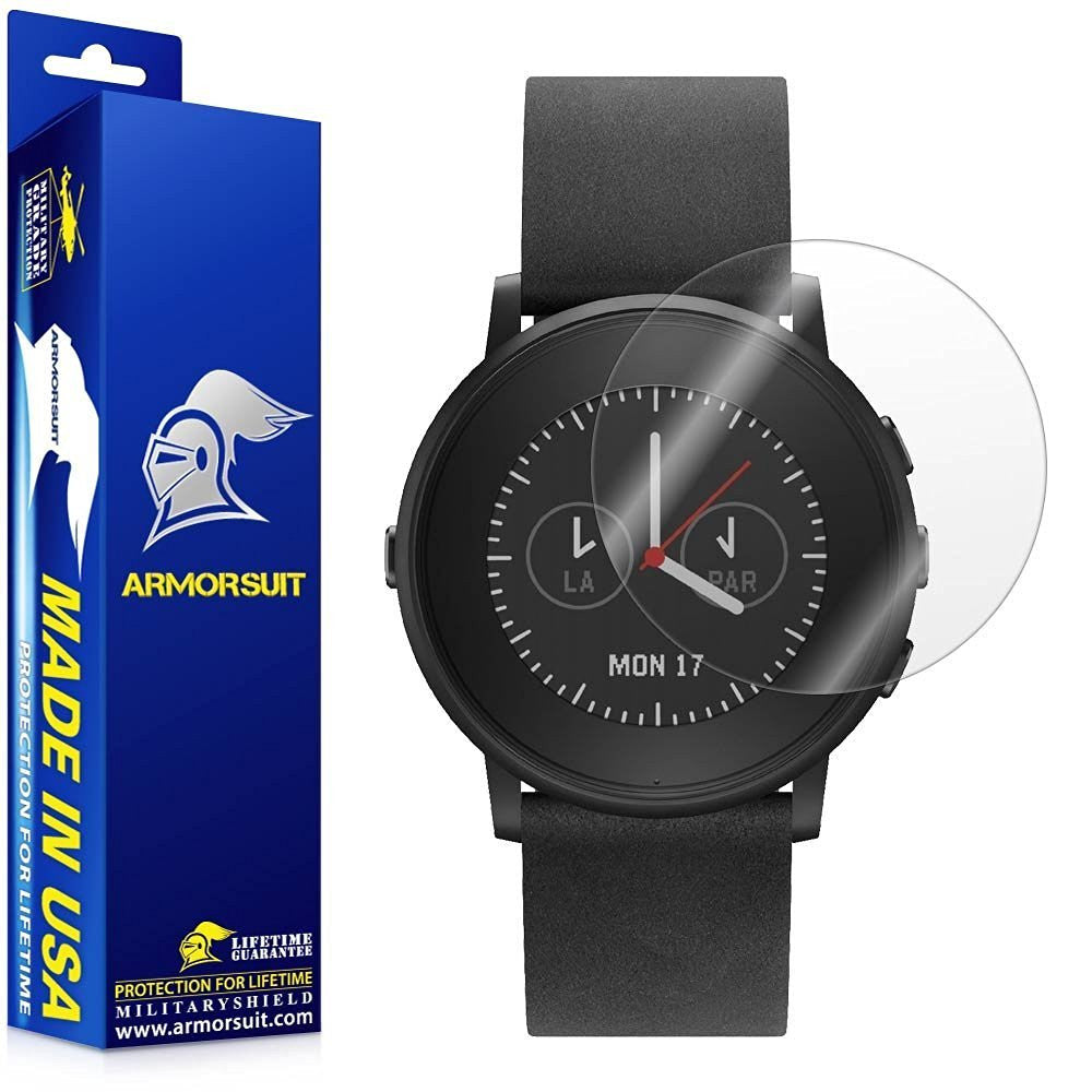 Pebble Time Round 14mm/20mm Screen Protector (2-Pack)