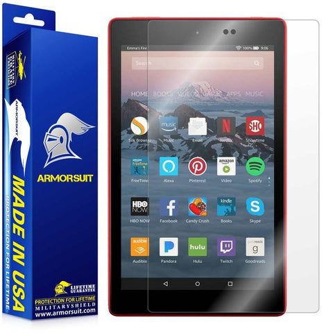 Amazon Fire HD 8 Screen Protector (7th Gen - 2017 Release) Screen Protector