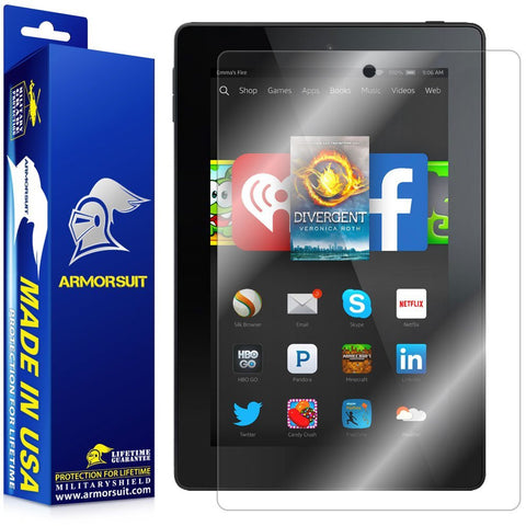 Amazon Fire HD 7 (2014 Version 4th Gen) Screen Protector