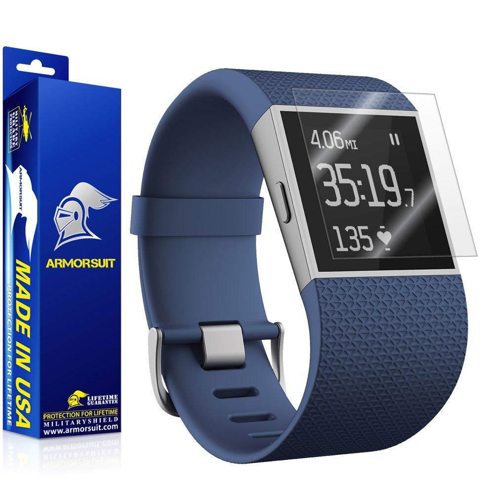 Fitbit Surge Fitness Superwatch Screen Protector [2-Pack]
