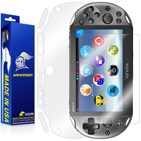 Sony PlayStation Vita Slim (2014) Full Body Skin Protector