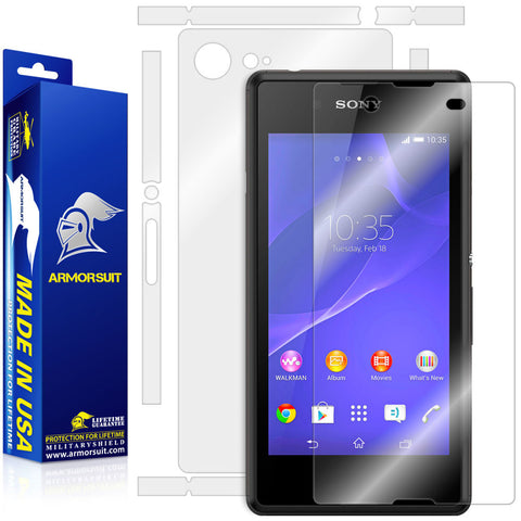 Sony Xperia E3 Full Body Skin