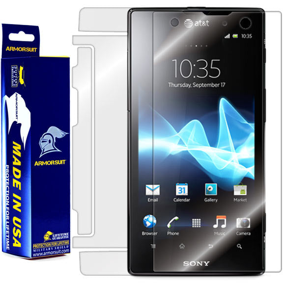 Sony Ericsson Xperia ion Full Body Skin Protector